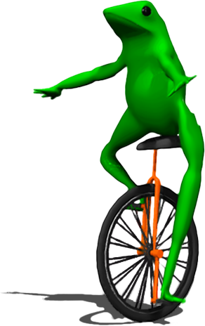 free stock Dat boi frog png