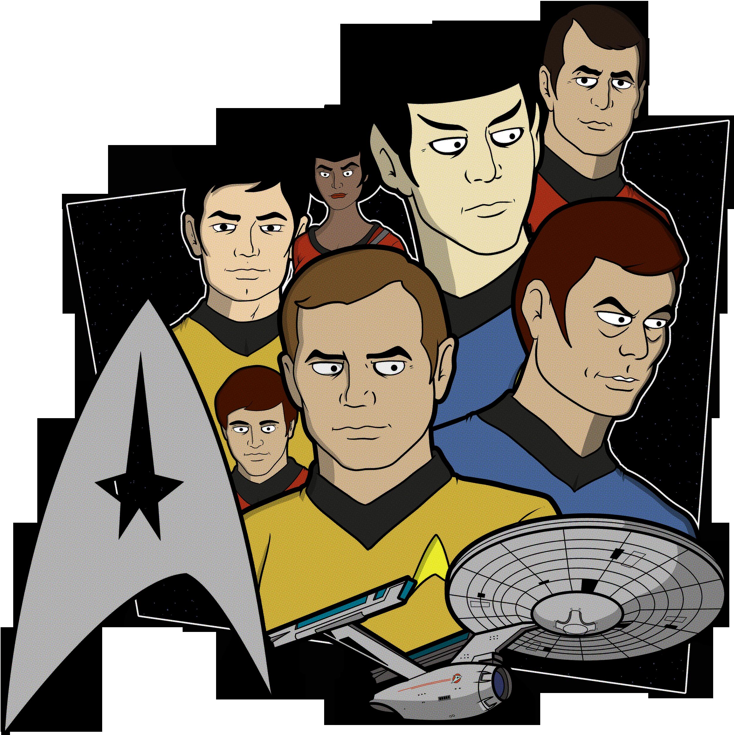 banner freeuse Star Trek Animated Style Version