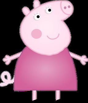 clip art royalty free stock De pig y su. Peppa clipart.
