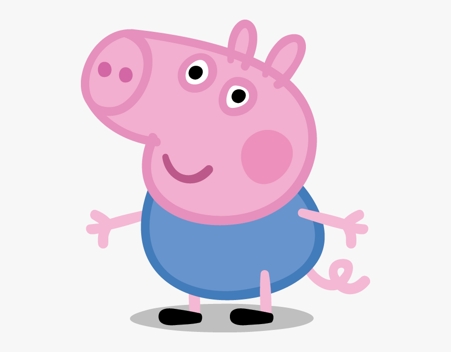 clip art freeuse download Peppa clipart. Pig black and white.