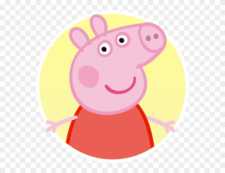 image freeuse download Pig reading a book. Peppa clipart.