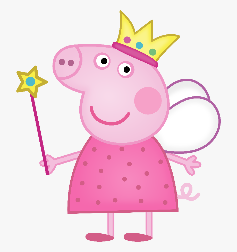 banner black and white download Peppa clipart. Download pig princess free.