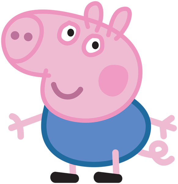 clipart library library Peppa clipart. George pig transparent png.
