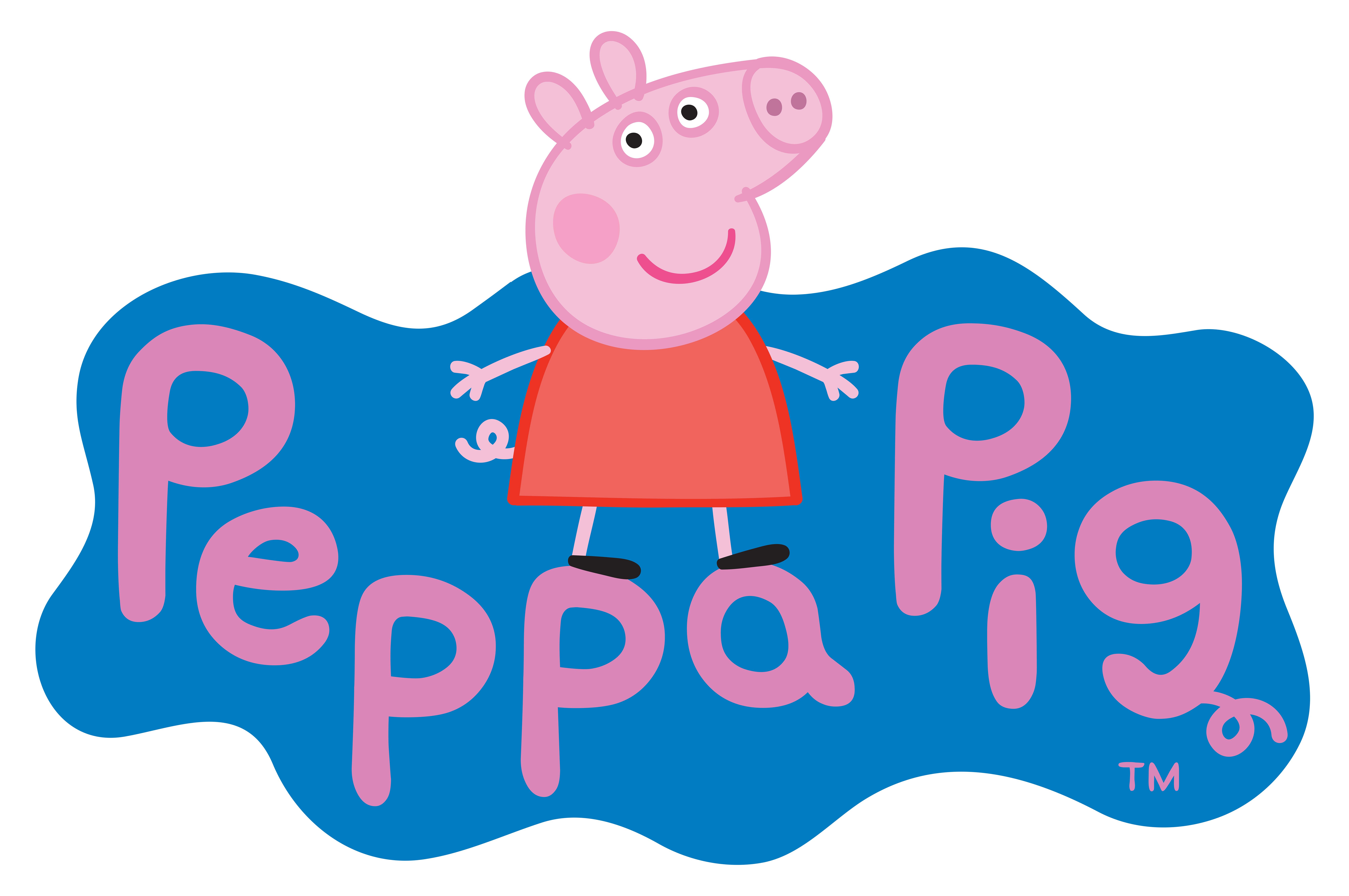 jpg Peppa clipart. Pig logo transparent png.