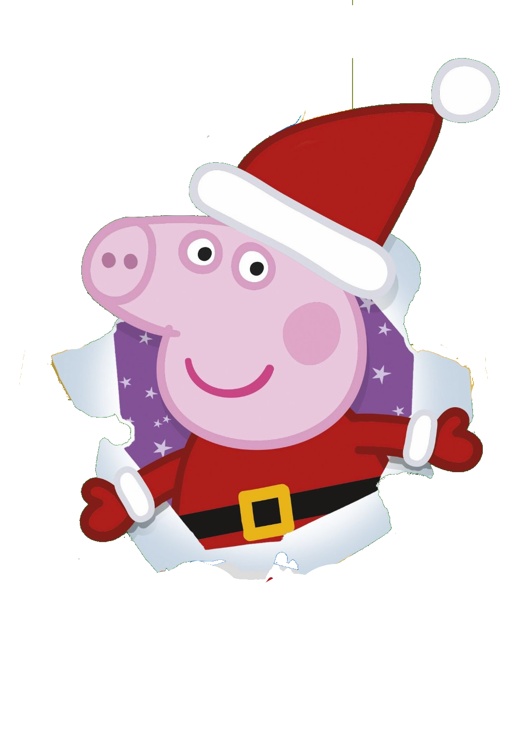 image free stock peppa clipart christmas png #44783591