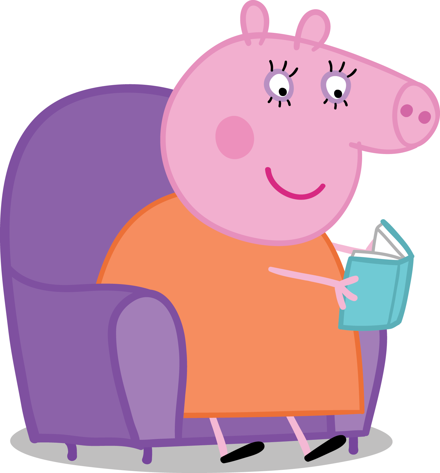 clip library Peppa clipart mummy pig. Partner toolkit