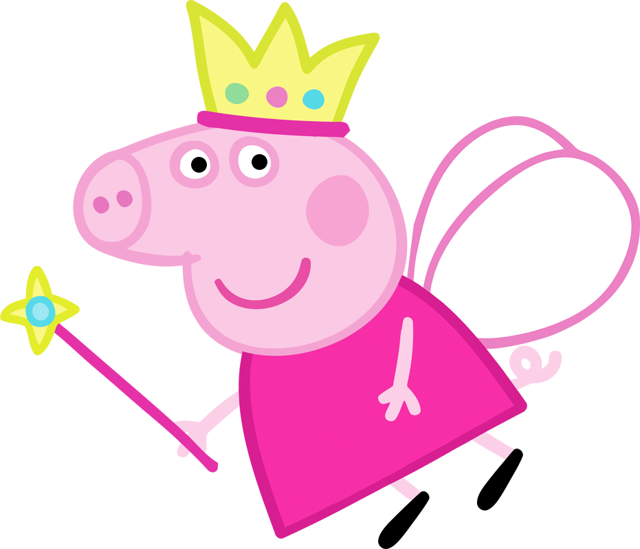 clipart royalty free stock Peppa Pig Fairy