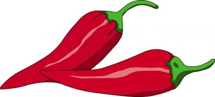 svg freeuse Pepper clipart. Peppers clip art free.