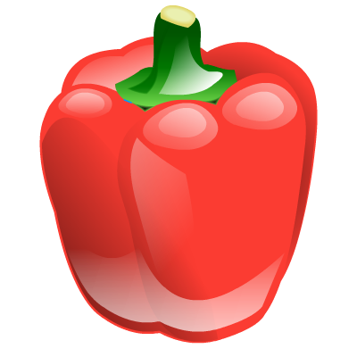 vector transparent library . Pepper clipart.