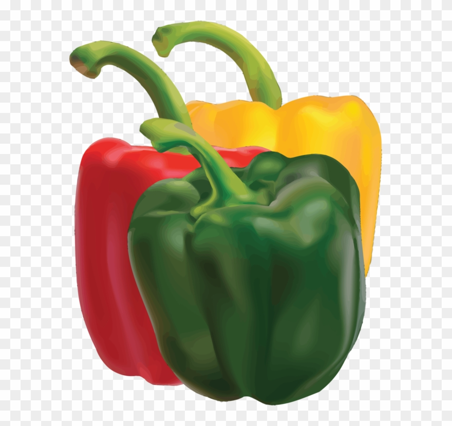picture freeuse Peppers clipart. Green bell pepper chili