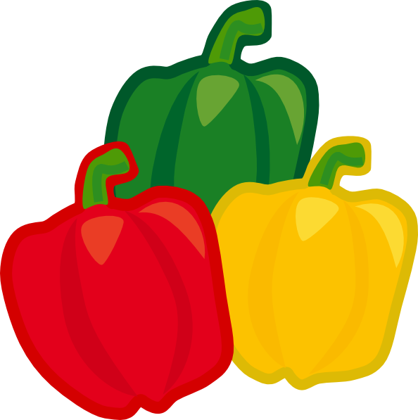 svg royalty free download Pepper clipart. Bell mix clip art.