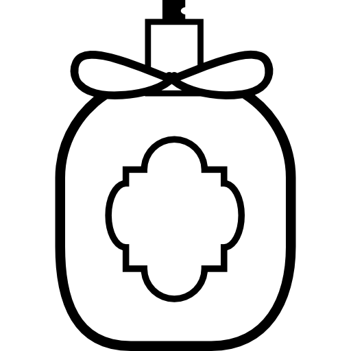 jpg transparent stock Perfume black and white clipart. Scents classic bottles scent
