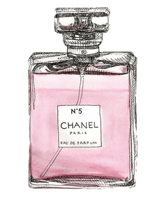 clip library library perfume clipart chanel #66584983