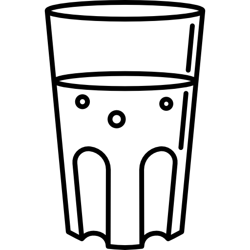 png  great benefits drinking. Glass of water clipart black and white