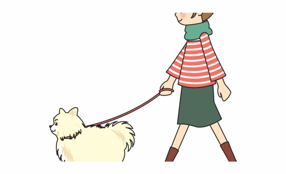 clipart library download Person walking dog clipart. Cliparts girl free png.