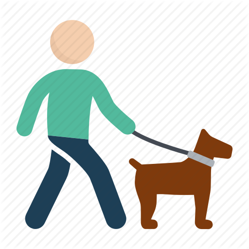 graphic transparent People png fabulous after. Person walking dog clipart.