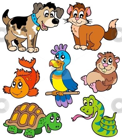 vector royalty free  pets clip art. Pet clipart.