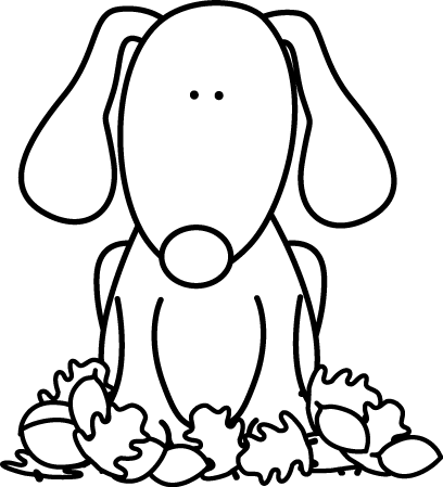 jpg freeuse download Dog drawing at getdrawings. Black and white animal clipart