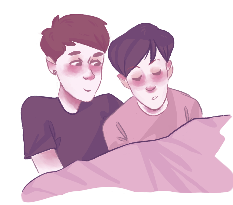 clipart transparent download Phan transparent cuddling. A collection of art