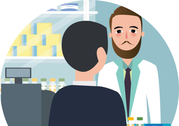 royalty free stock Pharmacist clipart pharmacist counseling