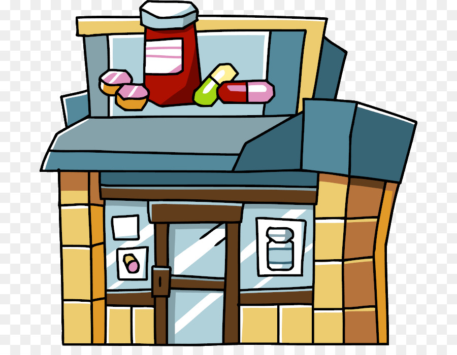 image Medicine cartoon pharmacist hospital. Pharmacy clipart.