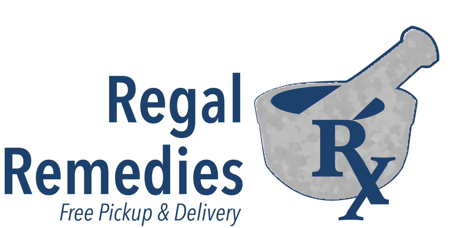 picture black and white Regal Remedies Pharmacy