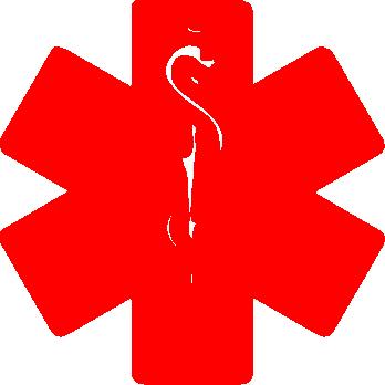 jpg royalty free library Real medic alert symbol