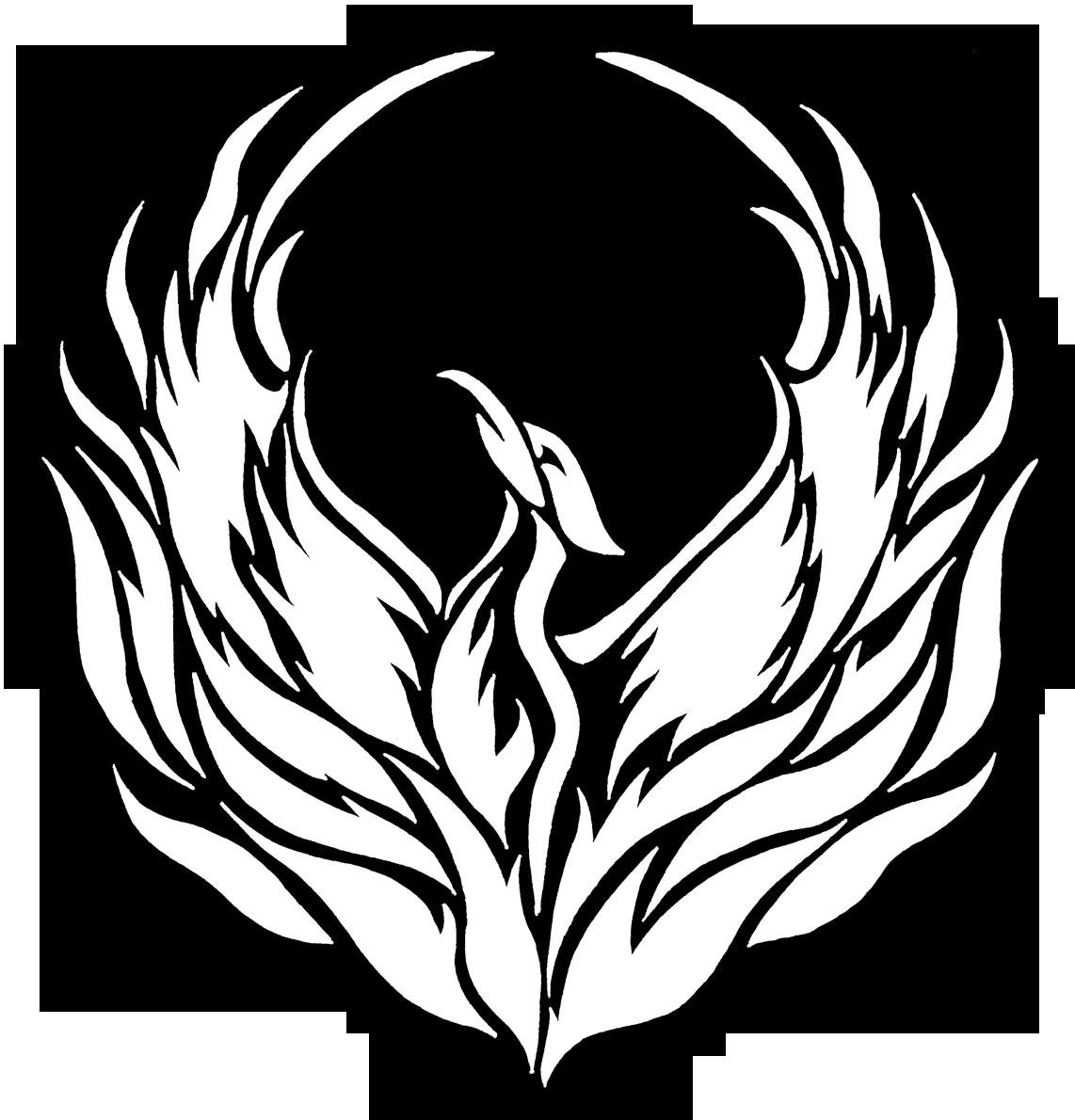 transparent library pheonix drawing logo #101209881