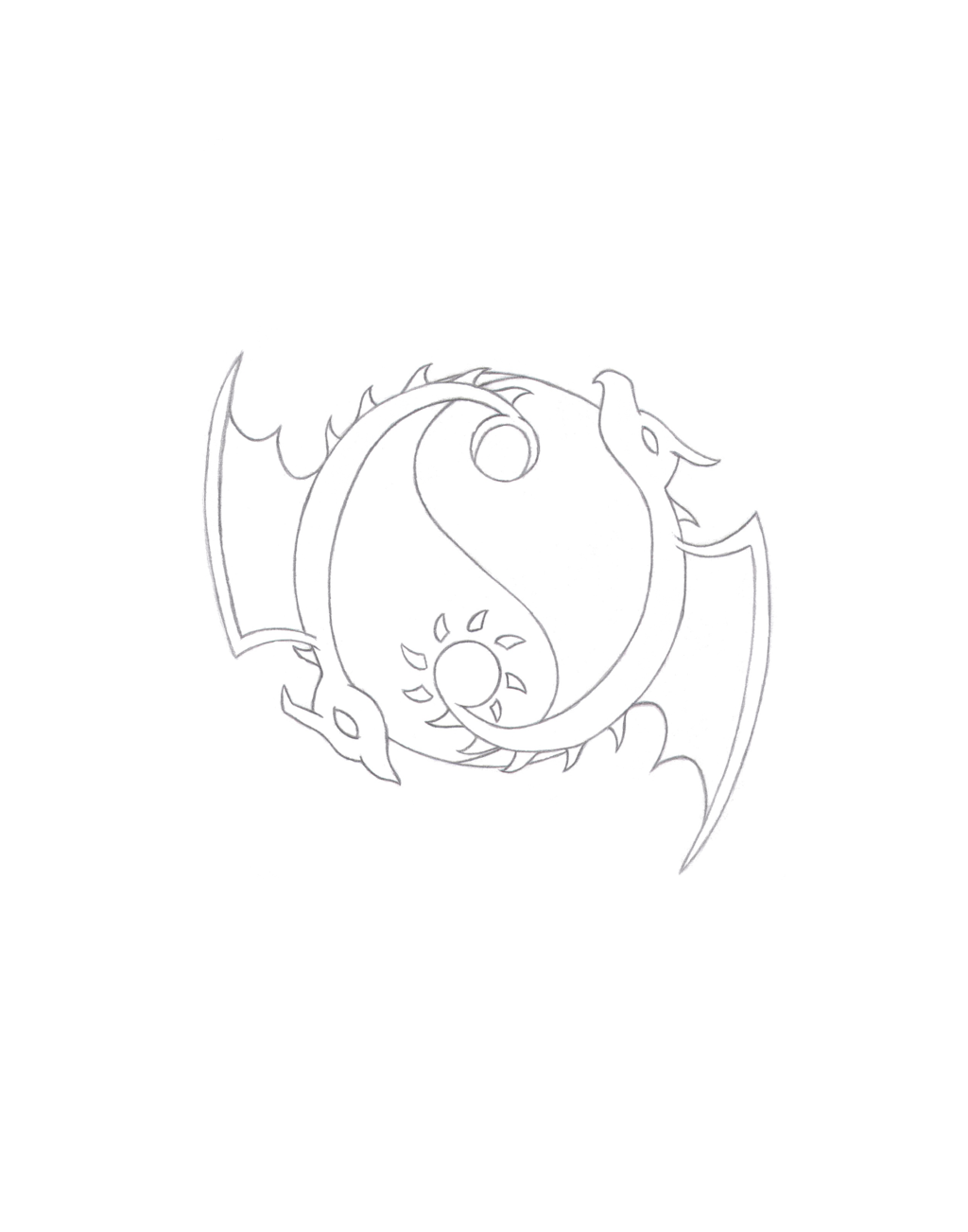 png library stock Yin Yang Drawing Designs at GetDrawings