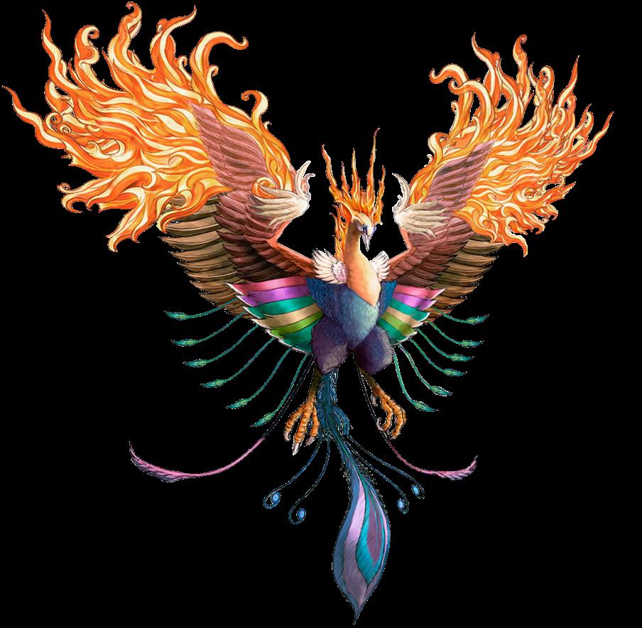 clipart library phoenix tumblr surreal bird ftestickers