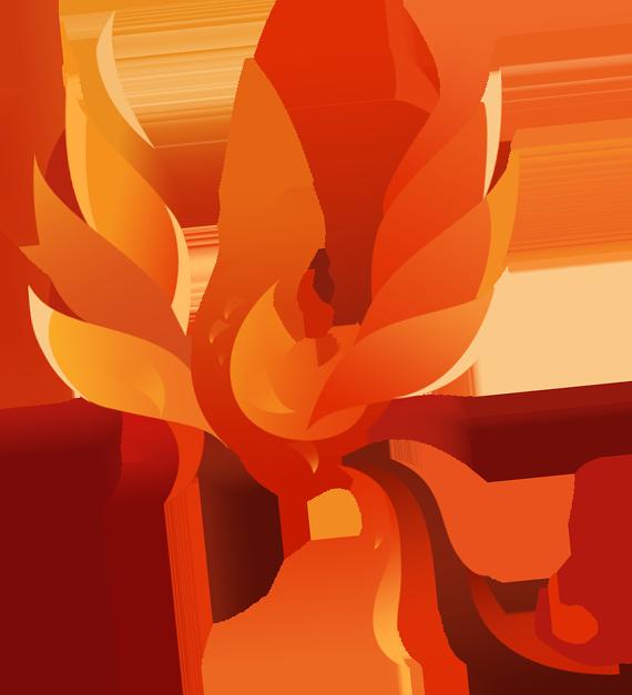 vector transparent download Phoenix Bird