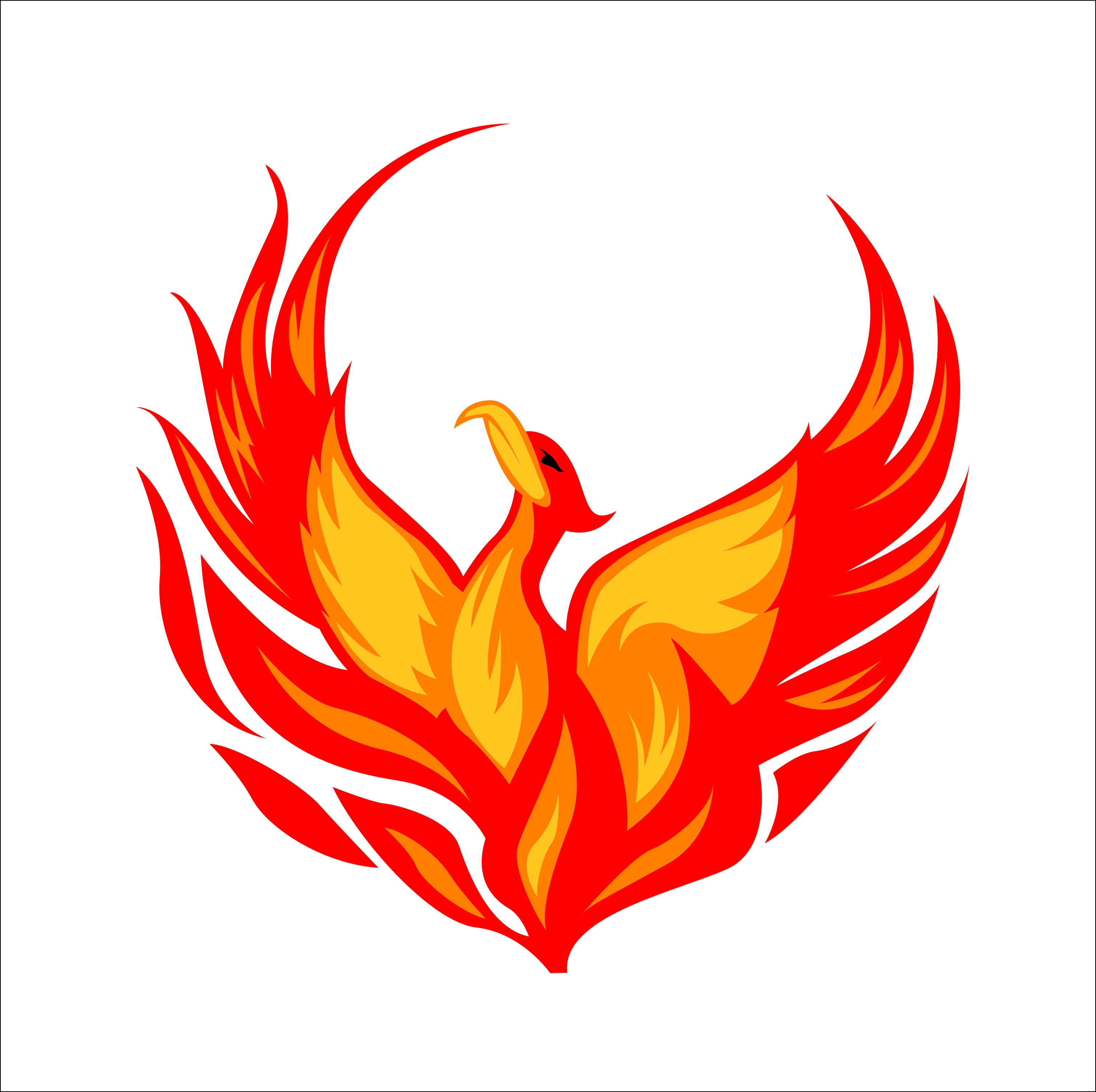 png royalty free download Free download clip art. Phoenix clipart.