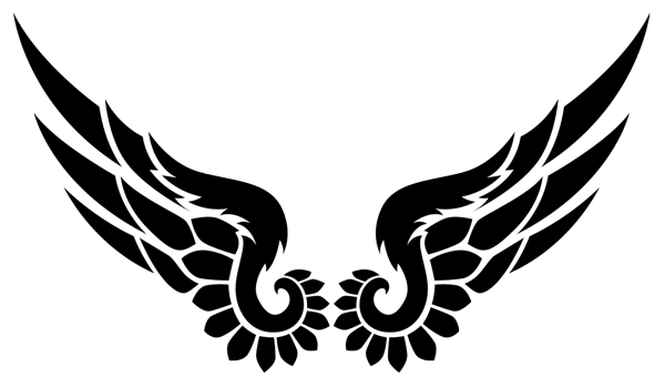 png transparent library Image result for drawings of phoenix wings