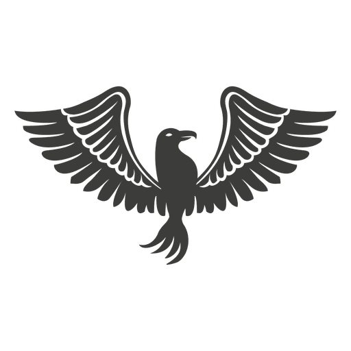 graphic library download Wide winged phoenix bird