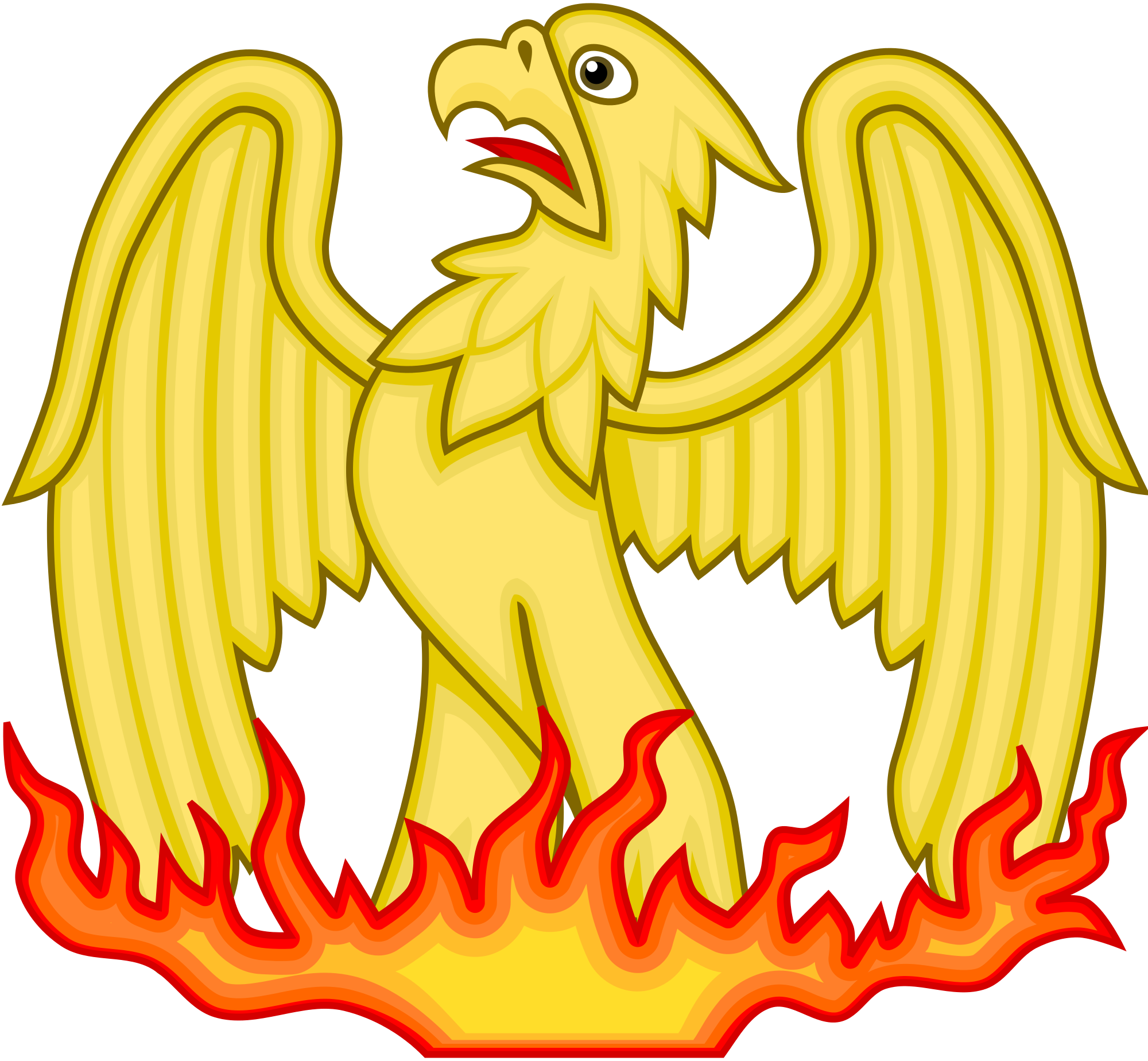 jpg transparent download phoenix svg yellow #115000391