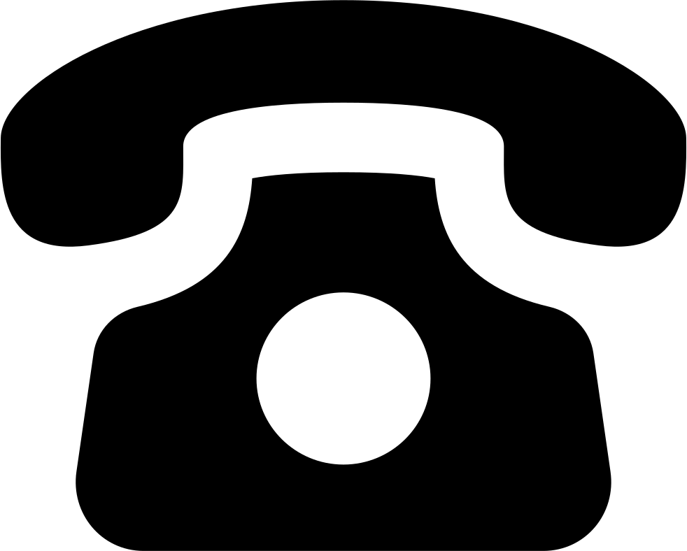 png black and white Old Phone Svg Png Icon Free Download