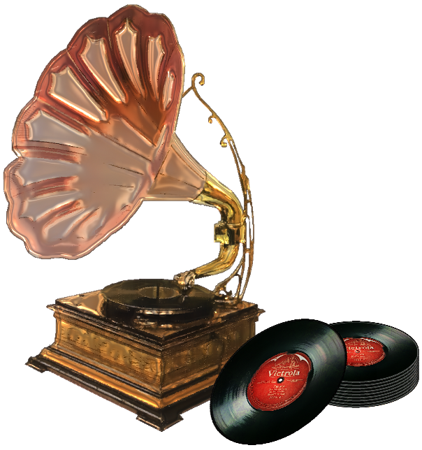 banner free Antique Phonograph by ScrapBee on DeviantArt