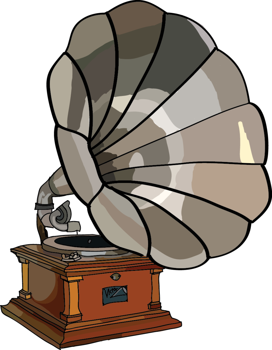 png black and white stock Phonograph drawing. At getdrawings com free.