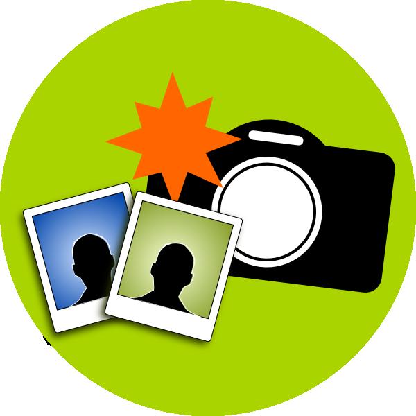 clip art transparent library Camera flash . Photo clipart.