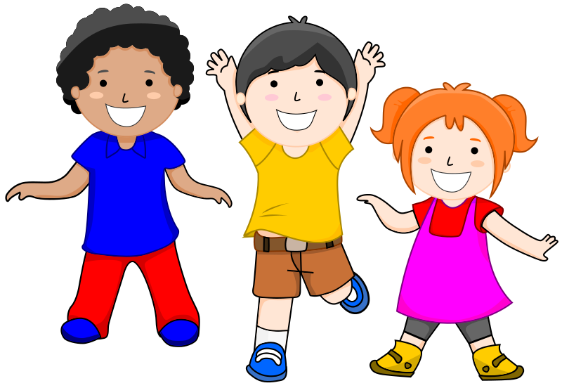 clip download Kids playing together clipart. Fine design children clip.