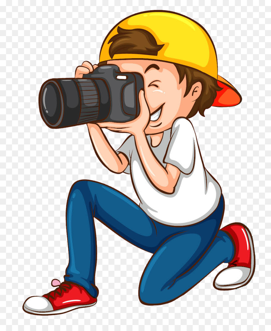 clip art royalty free download Photographer clipart. Boy cartoon illustration graphics.