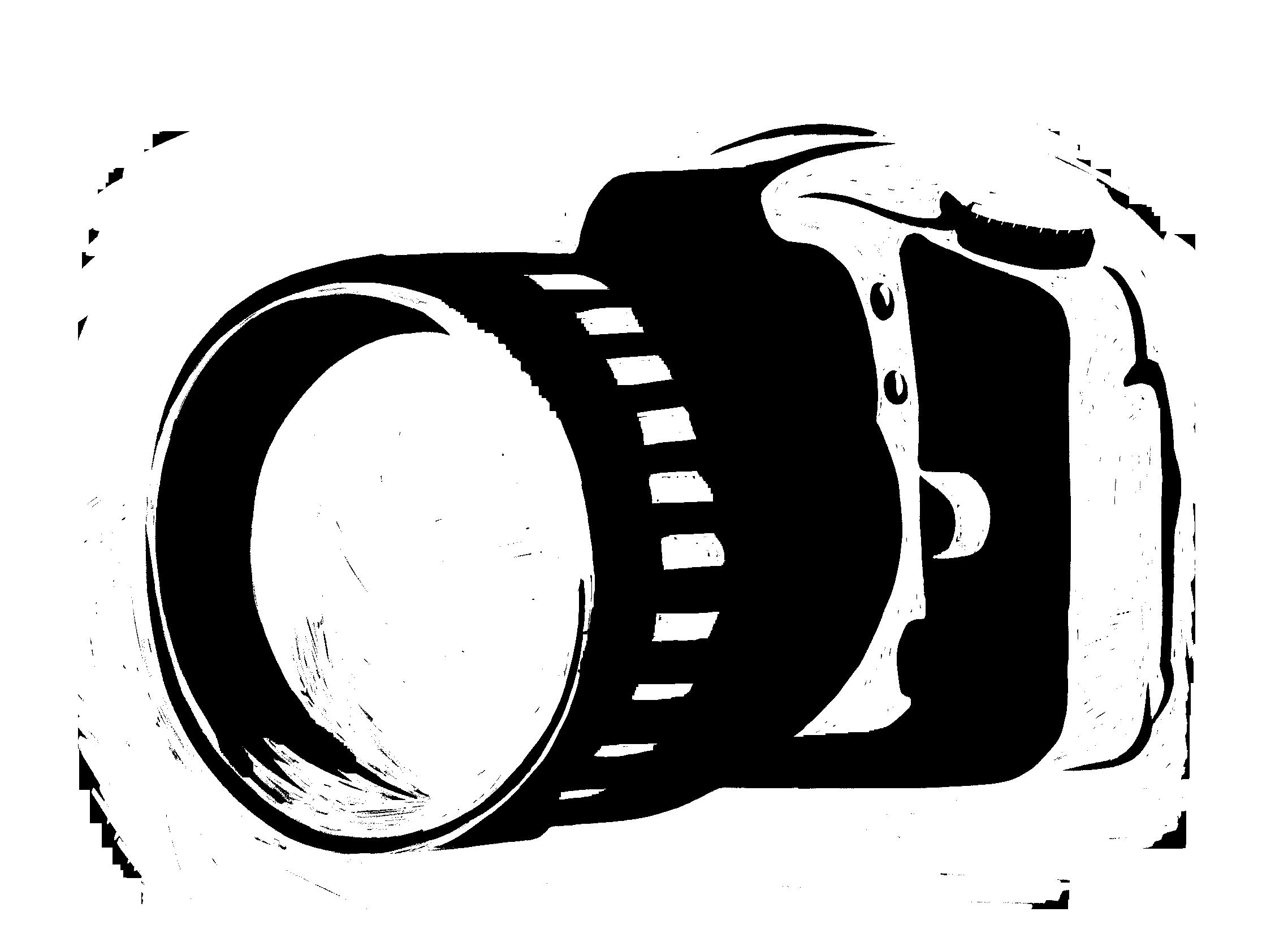 freeuse library Photography clipart camera logo