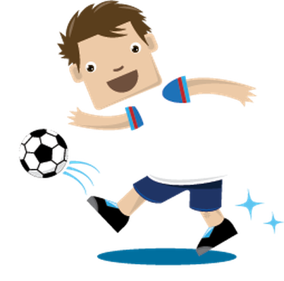 picture royalty free Children playing sports health. Kids soccer clipart