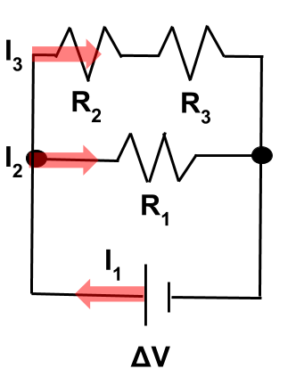 svg stock Kirchhoff s loop rule. Physics clipart complete circuit