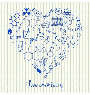 graphic black and white stock Physics drawing chemistry poster. I love doodles in