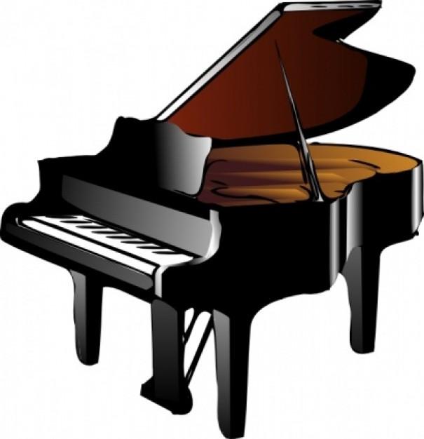 banner Free download clip art. Piano clipart.
