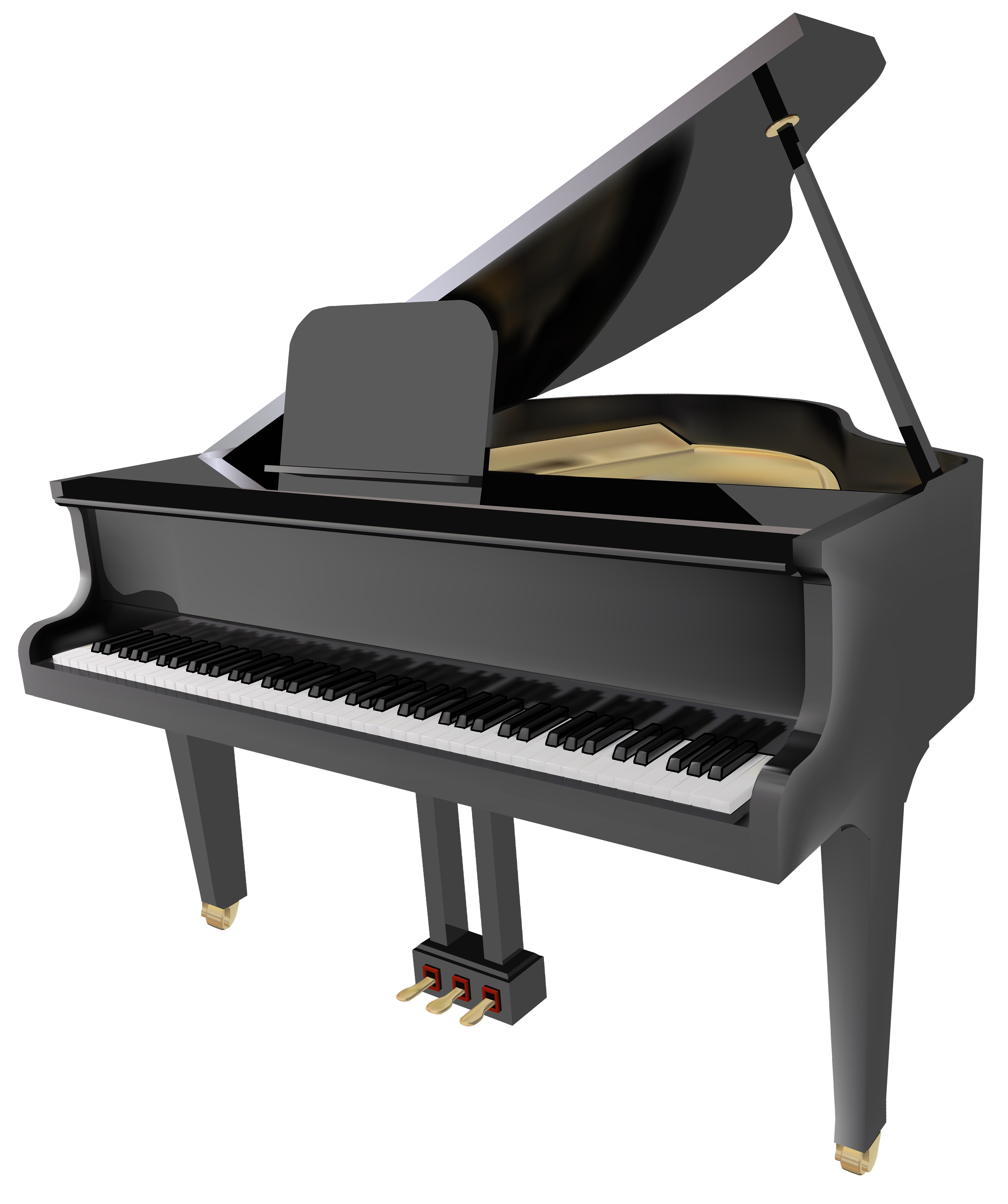 svg freeuse Keyboard piano clipart. Grand png best web
