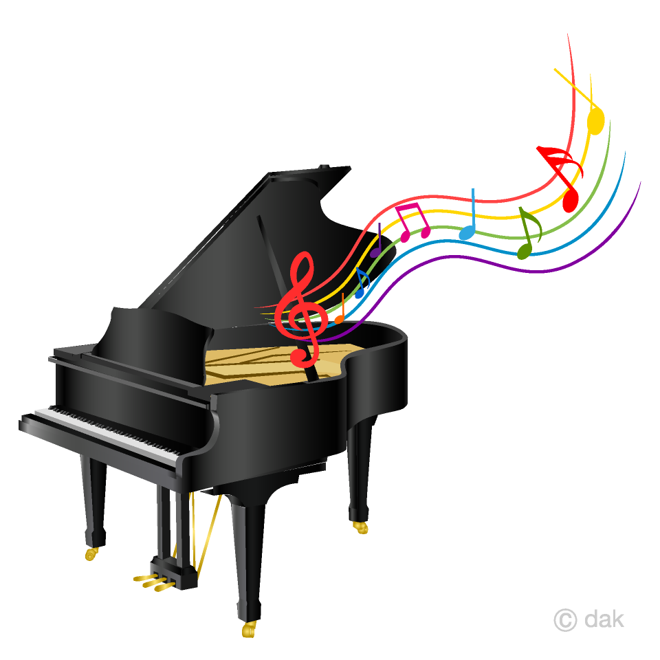 clip royalty free download Piano clipart. And music sheet free.