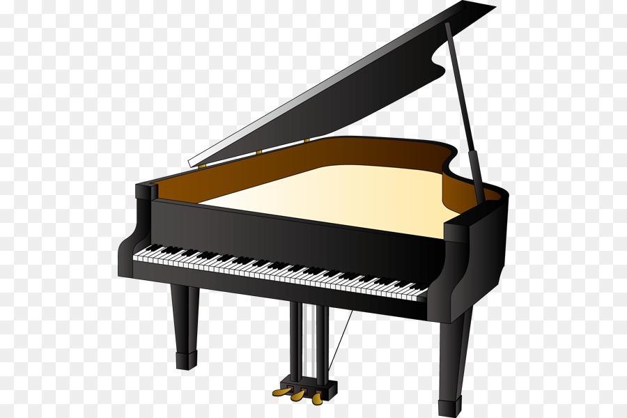 clip art royalty free Cartoon illustration music . Piano clipart.