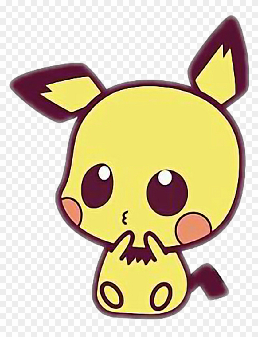 picture library download Sticker food cute drawings. Pichu drawing kawaii